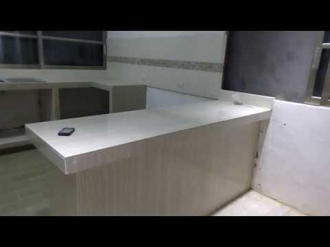 Muebles De Cocina 100 Concreto Y Azulejo Doovi