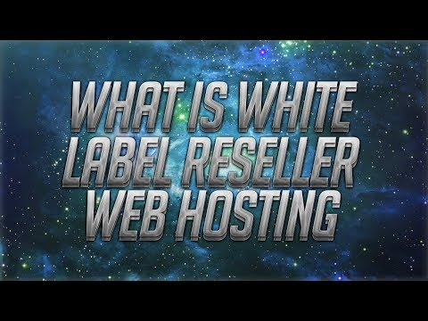 What Is White Label Reseller Web Hosting?