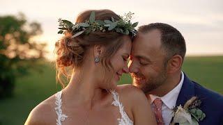Bluegrass Wedding Barn | Lexington Wedding Video | Krystle and Ryan