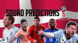 Denmark Squad Predictions for the 2018 World Cup