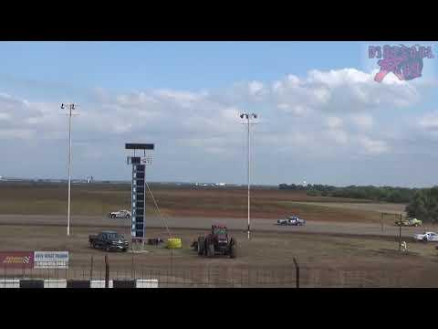 Salina Speedway - 9-30-18 - Mid America Clash 6 - Stock Car Heat Races