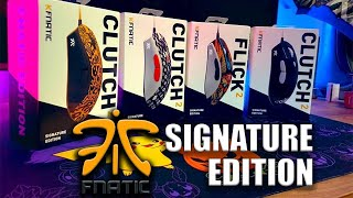 FNATIC Signature Edition Mice! Hands On All 4! (Anomaly, Clegfx, Rekkles)