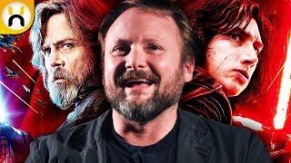 Rian Johnson Says The Last Jedi Was