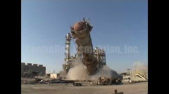 Arizona Chemical Catalytic Cracker Units - Controlled Demolition, Inc.