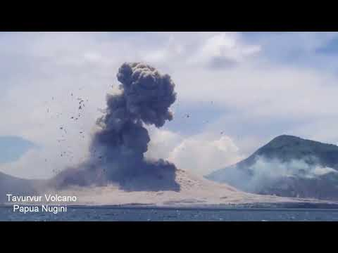 5 Suara Dentuman Gunung Api Meletus Yang Pernah Terekam