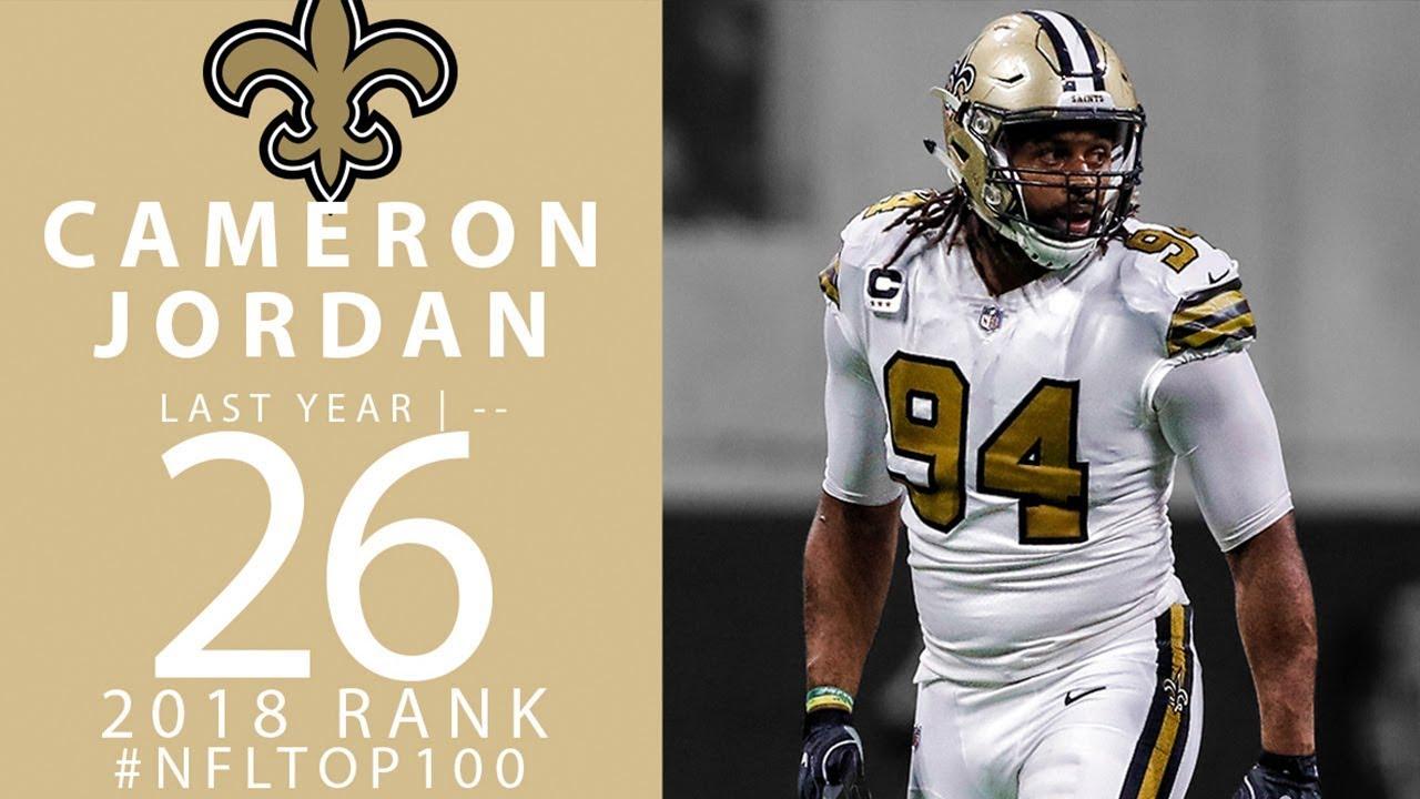 #26: Cameron Jordan (DE, Saints) | Top 100 Players of 2018 | NFL