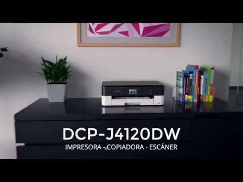 Product tour DCP-J4120DW. Multifunción tinta profesional de Brother