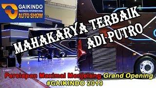 Download Video #GAIKINDO2019  - GAK MAU KALAH !!  INILAH SEDERETAN BUS TERCANGGIH BESUTAN ADIPUTRO MP3 3GP MP4