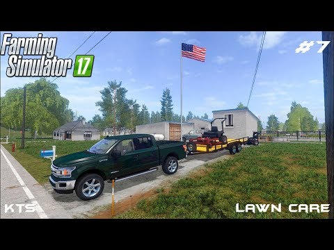 Mowing lawn | Lawn Care | Farming Simulator 2017 | Episode 7 thumbnail