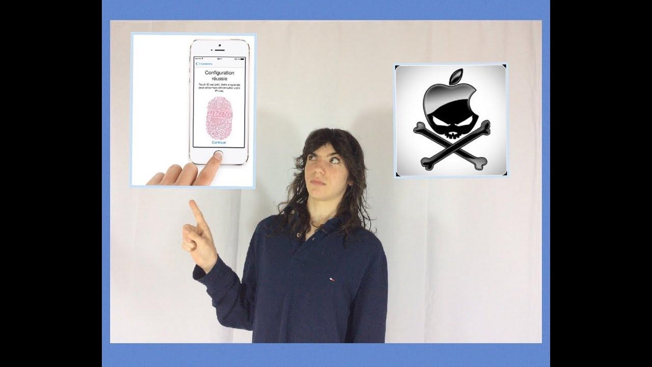 pirater empreinte iphone 7