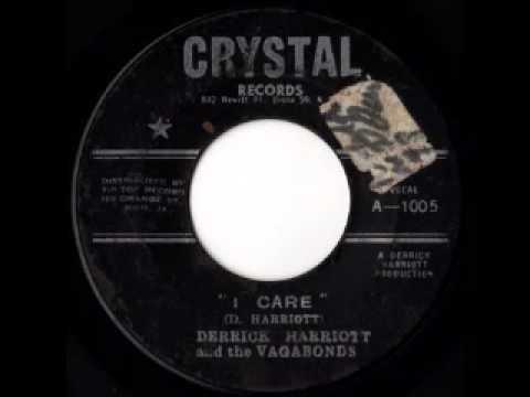 DERRICK HARRIOTT & THE VAGABONDS - I care (1962 Crystal)