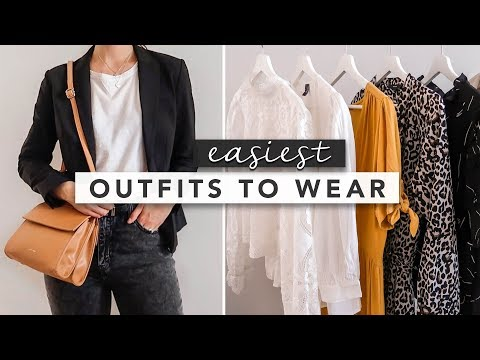 Fashion Finds - Styling Basics: The Easiest Outfits to Put Together and Style