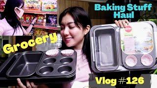 Vlog #126 - Php 7000 Worth Baking Haul + Nag Grocery sa Korean Store!
