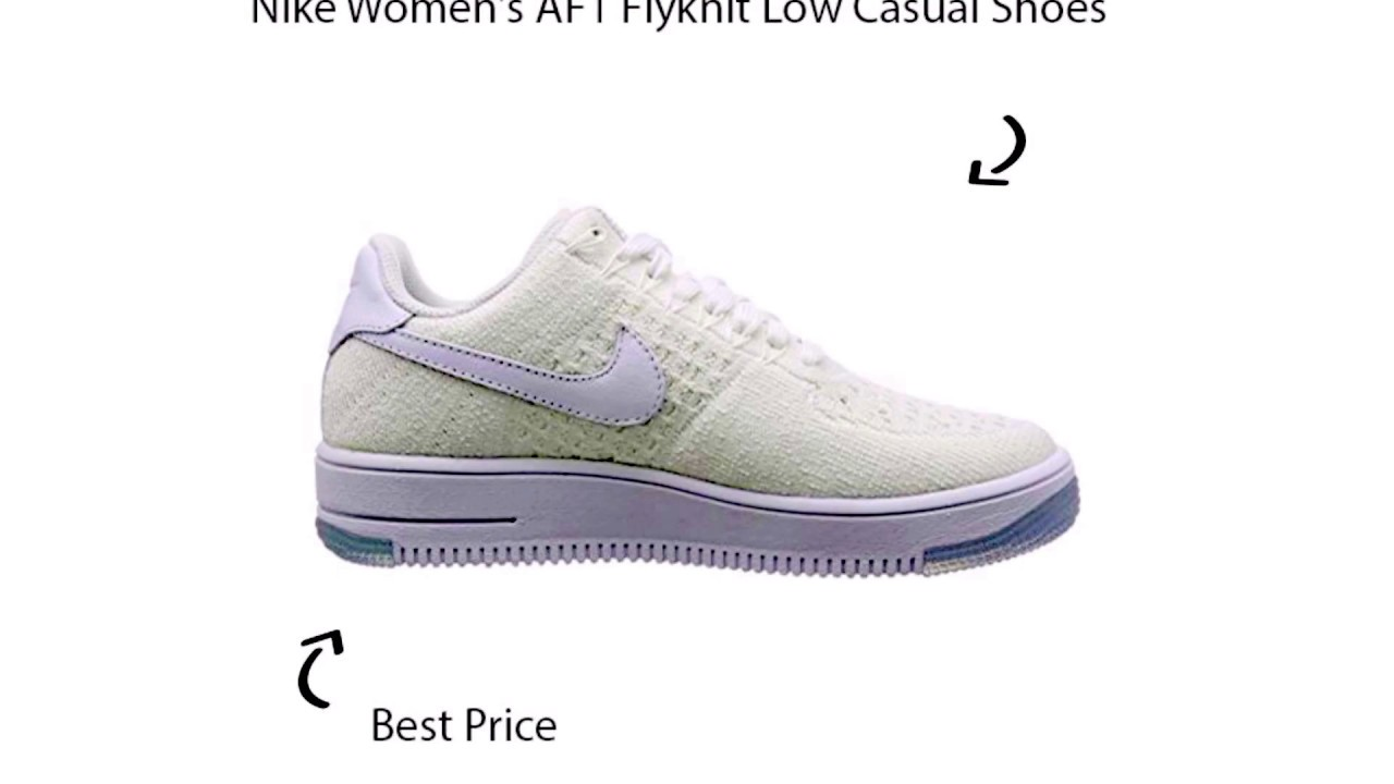 the latest 1973c 52498 Nike Women's AF1 Flyknit Low Casual Shoes