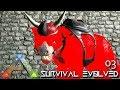 ARK: ABERRATION - MY FIRST PRIMAL TAME !!! E03 (PUGNACIA MOD ARK: SURVIVAL EVOLVED)