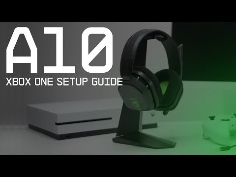 A10 Gaming Headset Xbox One Setup Guide || ASTRO Gaming