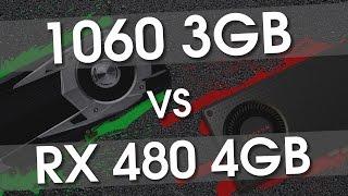 GTX 1060 3gb vs RX 480 4Gb (i7 6700@4.8) in all new games