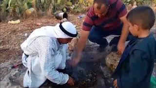 البدوديا في نعلين مع ايوب سرور نعلين غرب رام الله