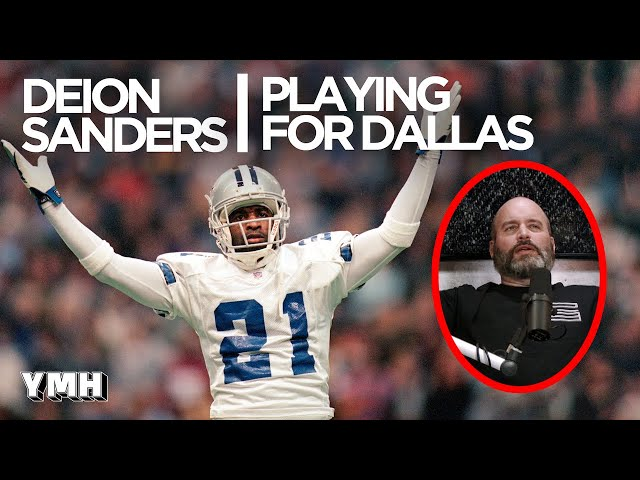 Deion Sanders On Playing For Dallas Cowboys - Tom Talks Highlight