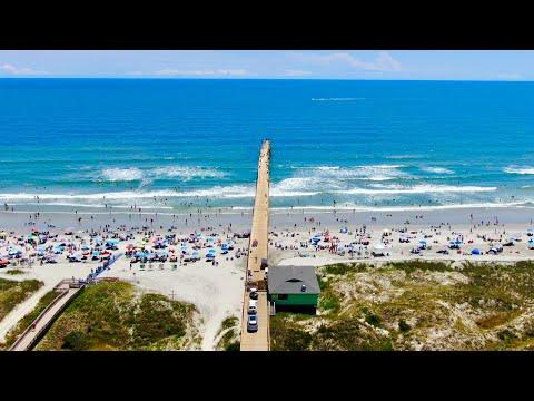 Sunset Beach Pier Drone Tour - Sunset Beach, NC