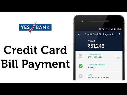Yes Bank Credit Card Bill Payment in real-time