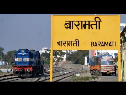 DAUND to BARAMATI : A Rarely Captured Section of INDIAN RAILWAYS