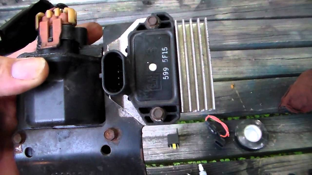 Ford 1 Wire Alternator Wiring Chrysler Lean Burn To Hei Ignition Conversion Part 1 Youtube