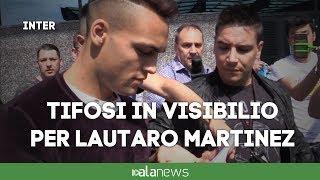 Inter, Lautaro Martinez arrivato a Milano
