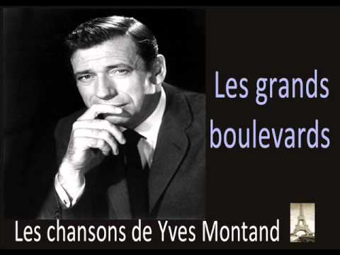 Yves Montand - Les Grands Boulevards