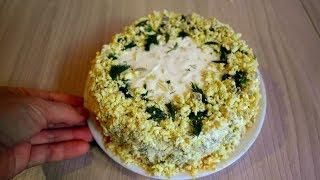 Салат Мимоза. Нежный и вкусный салат на праздник.