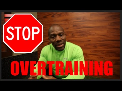 STOP Over-training YOU'RE KILLING YOUR GAINS