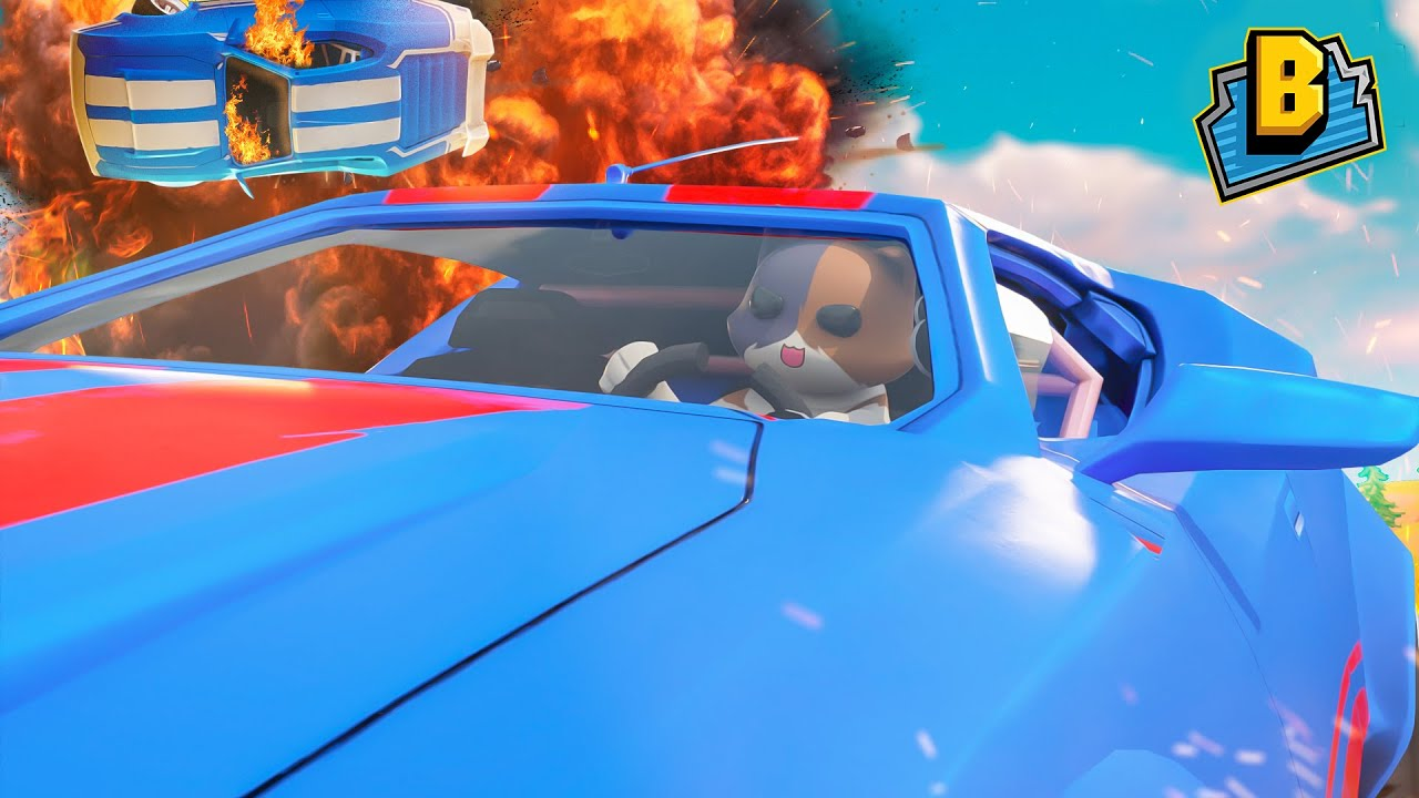 KIT GET'S A NEW CAR!!! - Fortnite Season 3