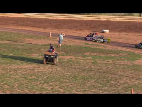 Ohio Valley Speedway Mini Wedge Heat Race 9-24-2016