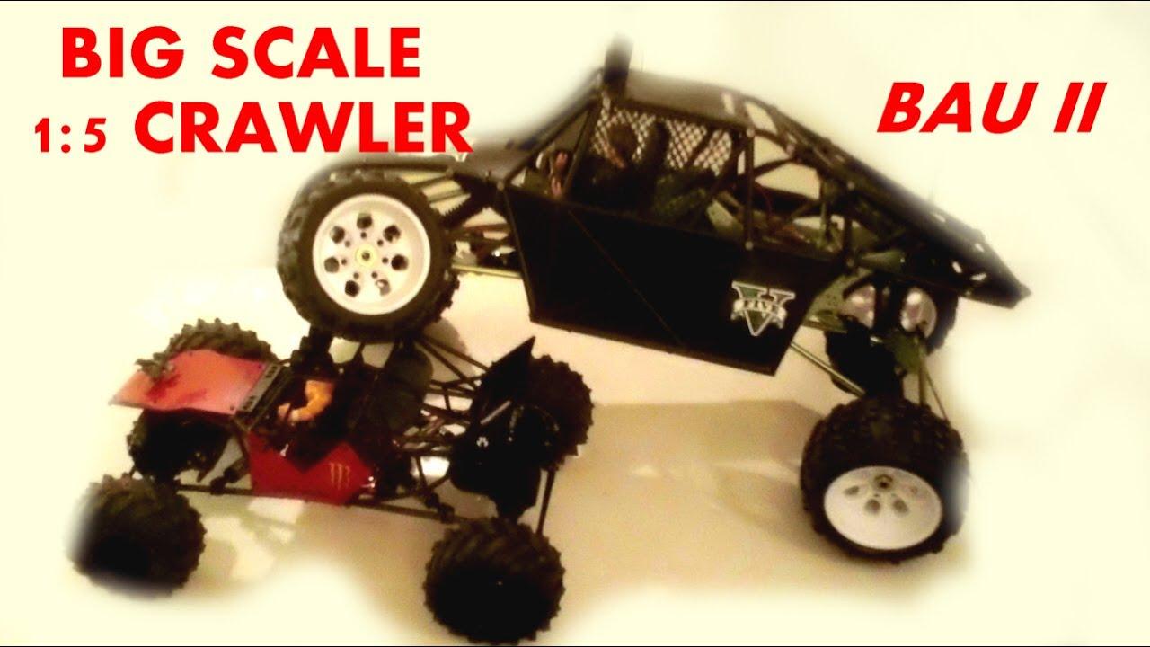 HUGE BIG SCALE ROCK CRAWLER 1:5 - Bau Teil 2 - Käfig - Darconizer RC ...