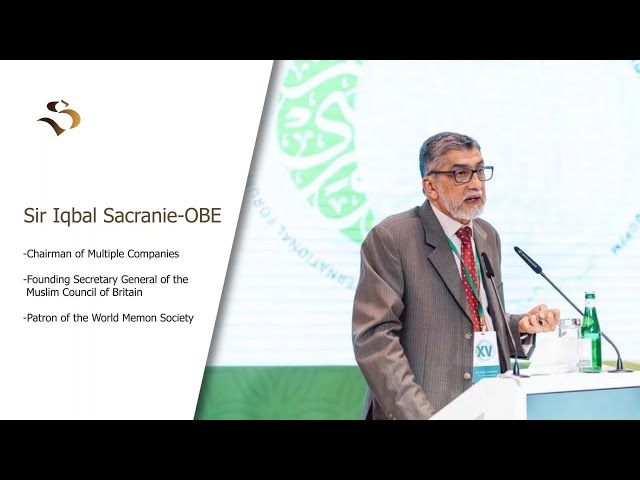 FOUNDING SECRETARY GENERAL OF THE MCB- SIR IQBAL SACRANIE (OBE)-INSPIRATIONAL MUSLIMS-E-14
