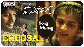 choosa-song-making-madhanam-songs-chinmayi-ron-ethan-yohann