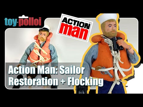 Fix it Guide - Vintage Action Man Sailor restoration