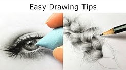 10 Drawing TIPS for Beginners - Get BETTER at Drawing IMMEDIATELY!