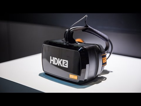 Hands-On with Razer OSVR HDK 2 Virtual Reality Headset