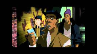 The Boondocks - Thugnificent sellin crack [Uncensored][HD]