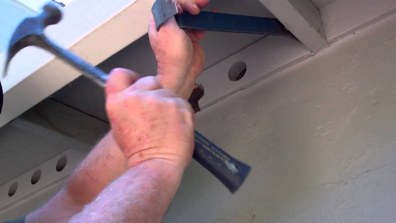 Removing Frieze Block To Install Attic Vent Part 3 Youtube