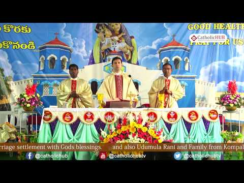 ANNUAL FEAST (English Mass) @SHRINE OF OUR LADY OF HEALTH, Khairatabad, Hyderabad, TS,India 08-09-19