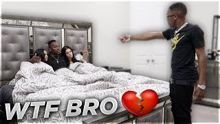 Download CAUGHT CHEATING IN BED WITH CARMEN FROM CARMEN & COREY PRANK 💔 Mp3 and Videos