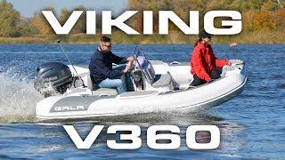 GALA Viking V360  - 12' aluminum RIB TEST DRIVE