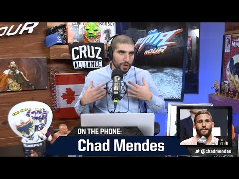 'Stressed Out' Chad Mendes Wants to Stay Away From 'Drama Set'