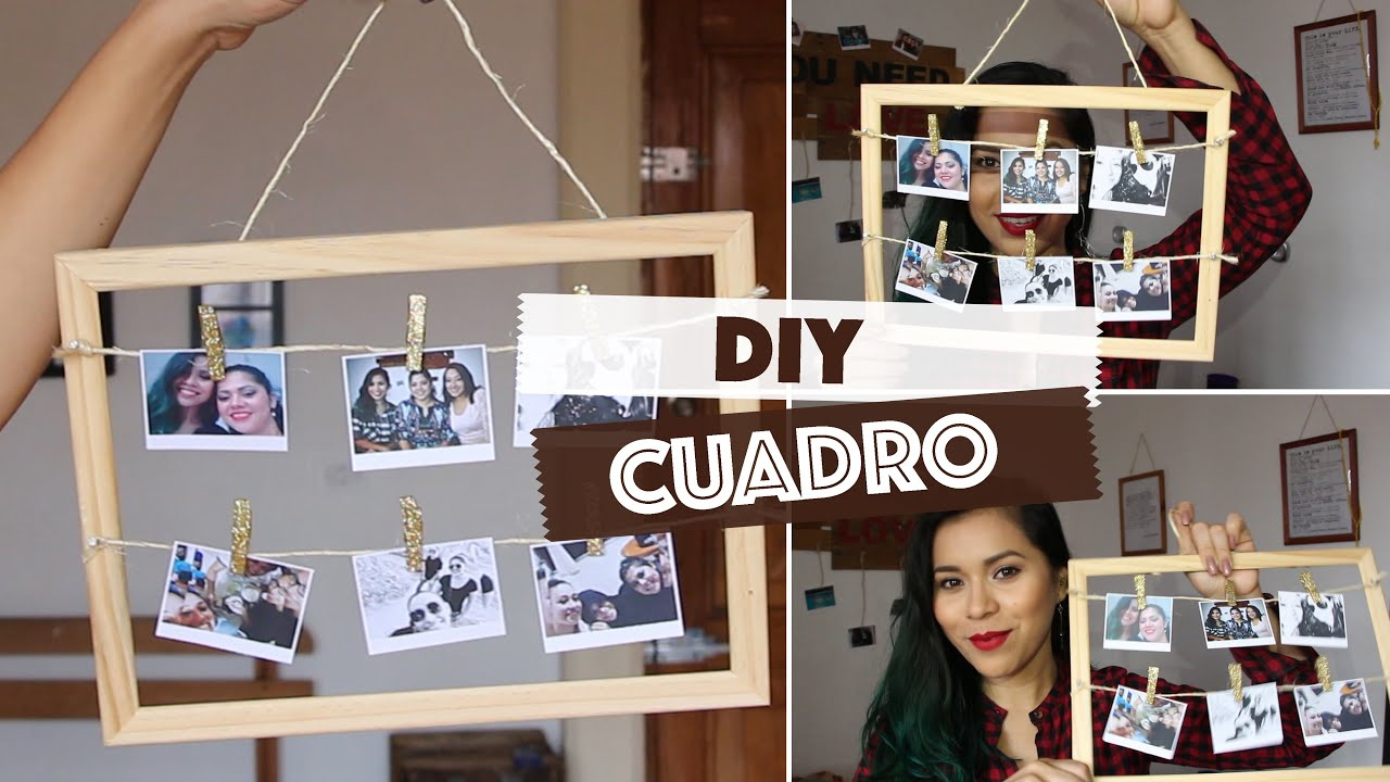 DIY: Marco con fotos - Regalo para San Valentín - Valentine\'s Day ...