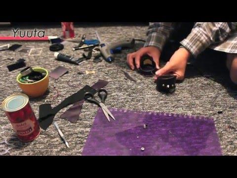 DIY tutorial: GOTH goggles