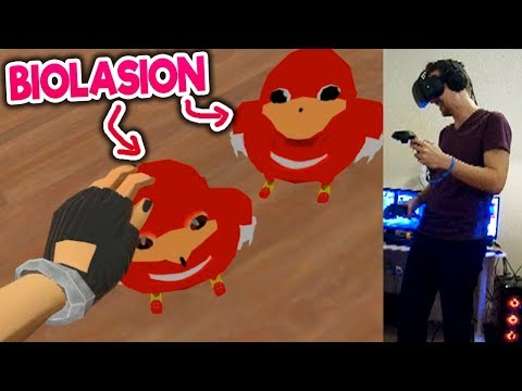 Pidiendo a la gente una BIOLASION ( ͡° ͜ʖ ͡°) en REALIDAD VIRTUAL ♦️♦️ | VR Chat