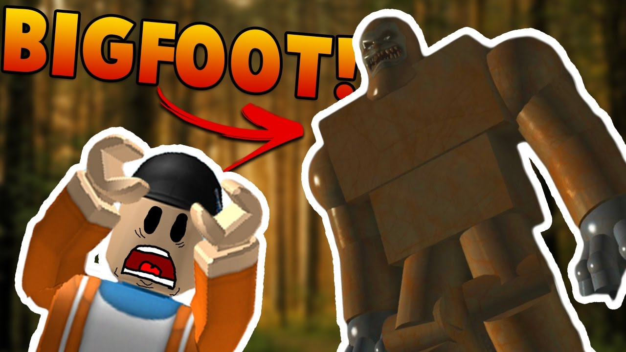 Finding Bigfoot In Roblox Let S Play Roblox Finding Bigfoot