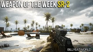 battlefield 4 ps4 sr 2 weapon review weapon of the week 12 bf4 gameplay
